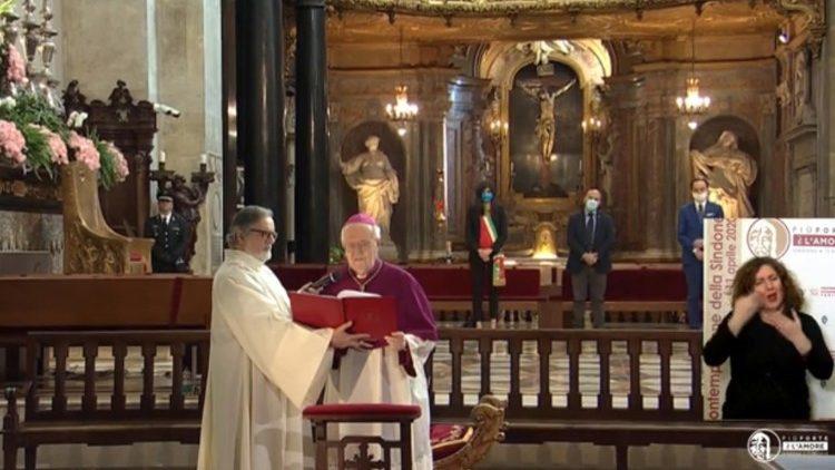 Турин: итальянские католики возносят молитву о прекращении пандемии
