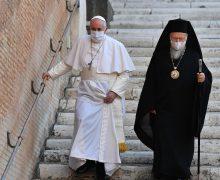 Папа: любовь св. Андрея наполняет силой в трудные времена