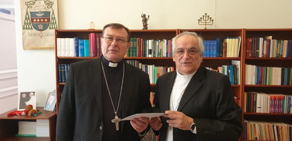 Особым протоколом посол Ватикана уведомил председателя ККЕР о начале своего служения в России