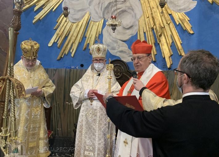 В Риме интронизирован первый Апостольский экзарх для верных УГКЦ в Италии