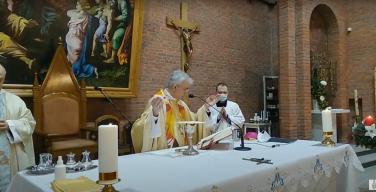 Торжество Непорочного Зачатия Пресвятой Девы Марии в Кафедральном соборе Новосибирска