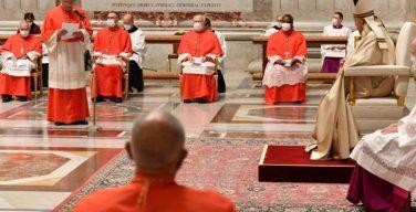 Папа Франциск поручил новопоставленным кардиналам различные служения в Римской Курии