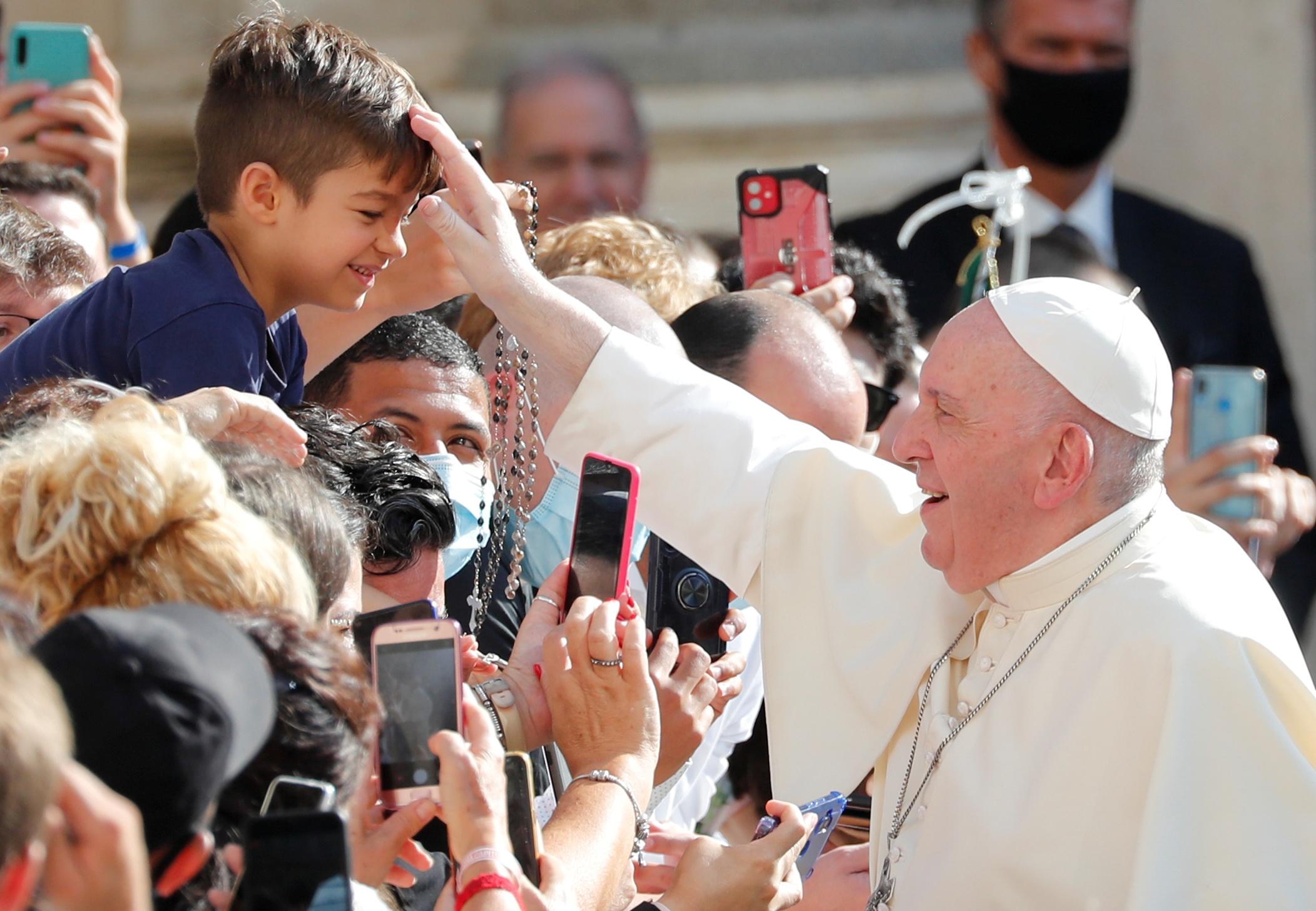Близость Папы в год дистанцирования