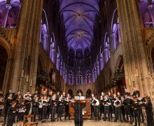 Впервые после пожара в соборе Нотр-Дам в Париже споёт церковный хор