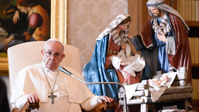 Папа: мир держится на молитве заступничества. Общая аудиенция 16 декабря