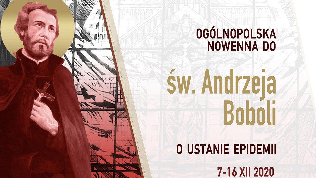 В Польше проходит новенна св. Андрею Боболе о прекращении пандемии