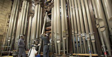 Орган Нотр-Дама отправили на реставрацию