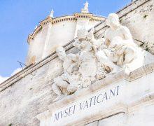 Барбара Ятта: главный вход в Музеи Ватикана как символ открытости