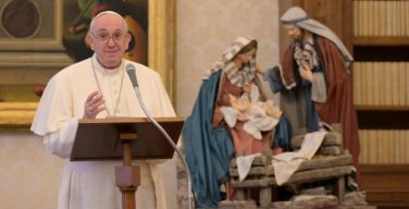 Слово Папы Франциска перед чтением молитвы «Ангел Господень» в торжество Пресвятой Богородицы Марии и Всемирный день мира. 1 января 2021 г., библиотека Апостольского дворца
