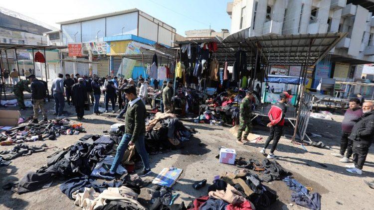 Папа Франциск назвал теракт в Багдаде «бессмысленным актом жестокости»
