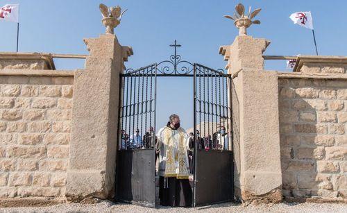 Францисканские монахи совершили богослужение на месте Крещения Христа впервые с 1967 года