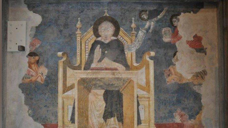 Восстановлено старейшее изображение святого Фомы Аквинского