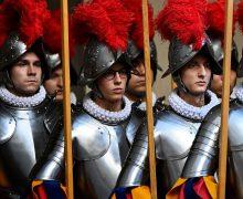 Швейцарская гвардия Ватикана пополнилась новобранцами