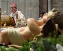 Святая Месса в базилике Ватикана 1 января 2021 года