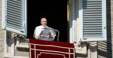 Слово Папы Франциска перед чтением молитвы «Ангел Господень» в 6-е воскресенье Рядового времени. 14 февраля 2021 г., площадь Св. Петра