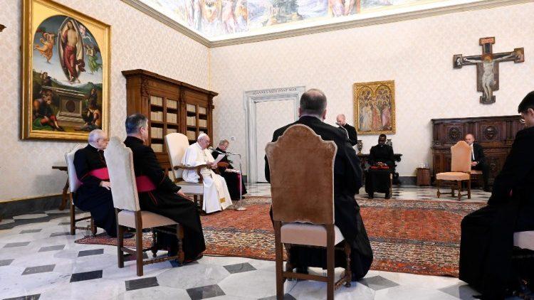 На общей аудиенции 3 февраля Папа Франциск размышлял о важности Божественной Литургии