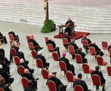 Три призыва к покаянию: первая великопостная проповедь кардинала Канталамессы