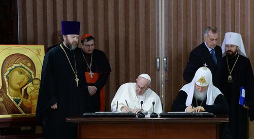 Руководитель Общины Святого Эгидия: встреча Папы и Патриарха на Кубе сделала живой мечту о христианском единстве