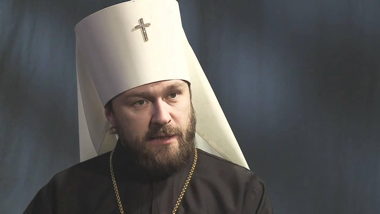 Митрополит Иларион: визит Папы Римского в Россию на повестке не стоит