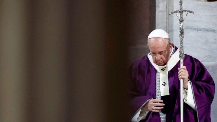 Увидело свет Послание Папы Франциска на Великий Пост 2021 года