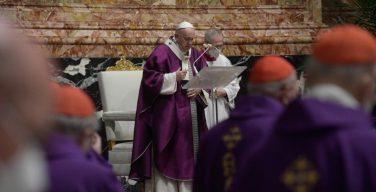 Проповедь Папы Франциска на Святой Мессе Пепельной среды. 17 февраля 2021 г., базилика Святого Петра