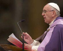 Послание Папы Франциска на Великий Пост 2021