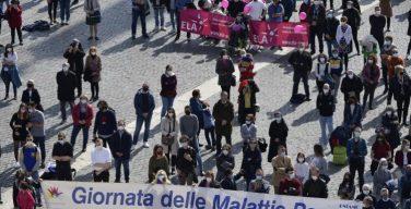 Папа Франциск выразил свою солидарность со страждущими от редких заболеваний