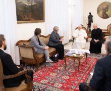 Папа Франциск работникам американского католического информагентства: следует со смирением и ответственностью служить истине