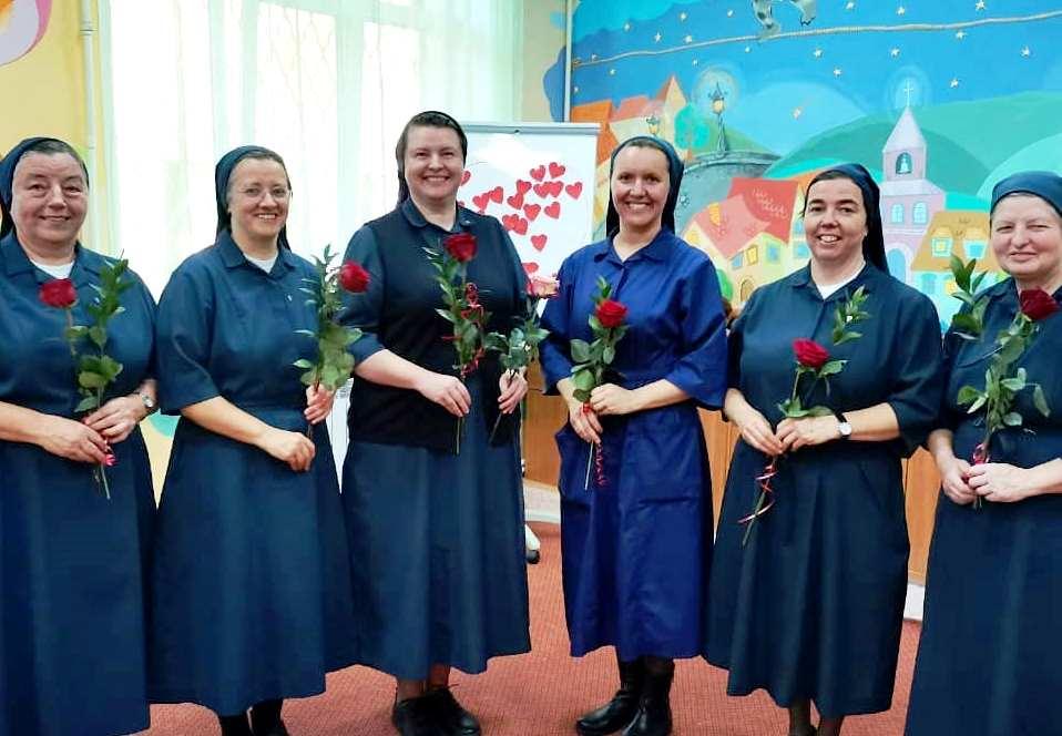На Благовещение Дочери Милосердия Святого Викентия де Поля обновили свои обеты