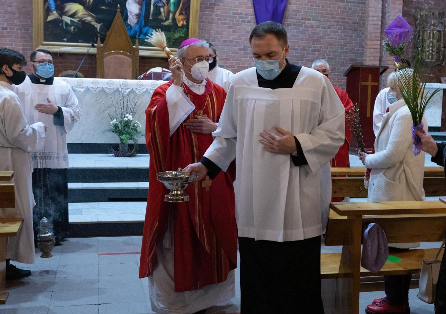 Вербное воскресенье-2021 в Новосибирске (ФОТО)