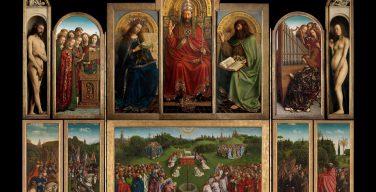 Восстановленный Гентский алтарь братьев Ван Эйков возвращается в собор Сен-Бавон после реставрации