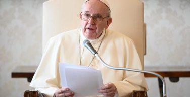 Папа Франциск на общей аудиенции: молитва вводит нас в тайну безмерной Божественной любви