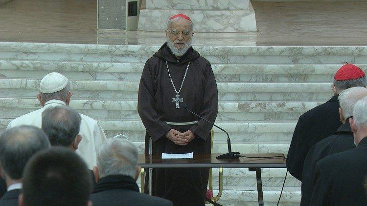 Проповедник Папского Дома выступил с третьей великопостной проповедью