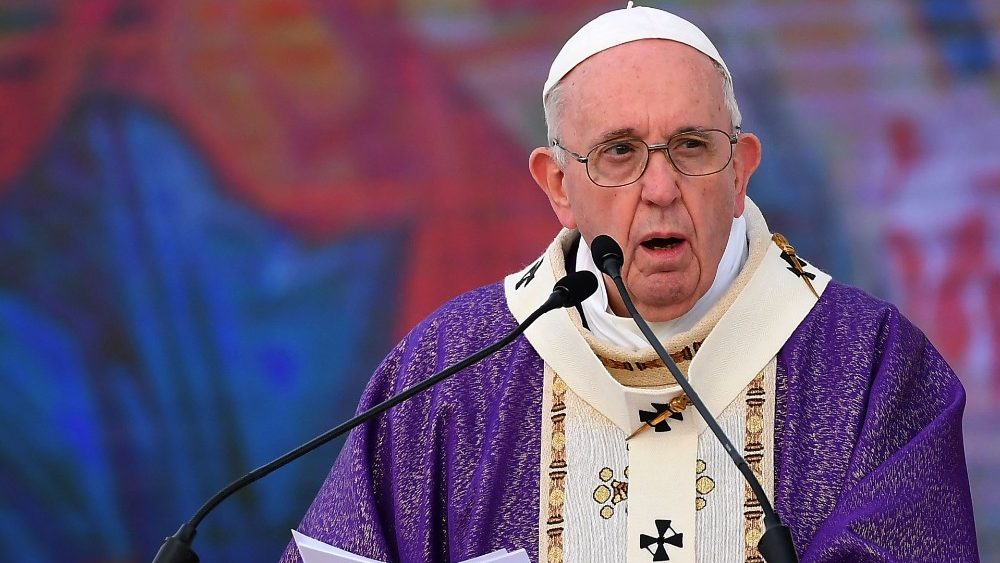 Проповедь Папы Франциска на Святой Мессе 3-го воскресенья Великого Поста. 7 марта 2021 г., Эрбиль, стадион имени Франсо Харири
