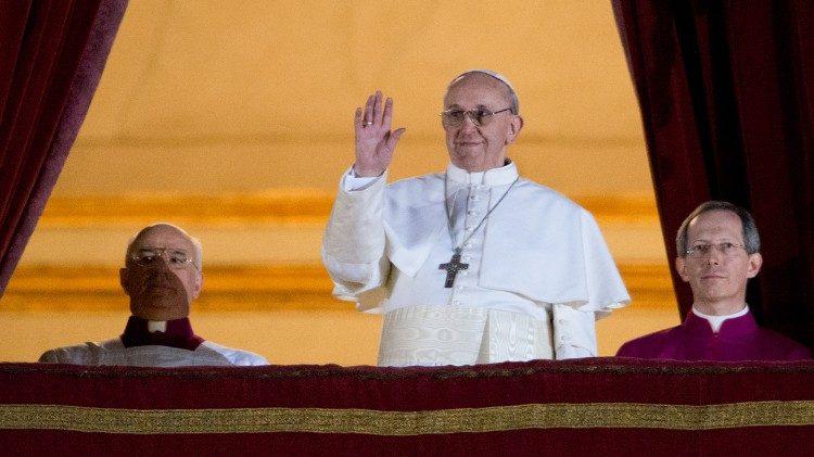 Понтификату Папы Франциска исполнилось восемь лет
