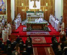 Папа Франциск завершил второй день своего Апостольского визита в Ирак Божественной Литургией в Багдаде