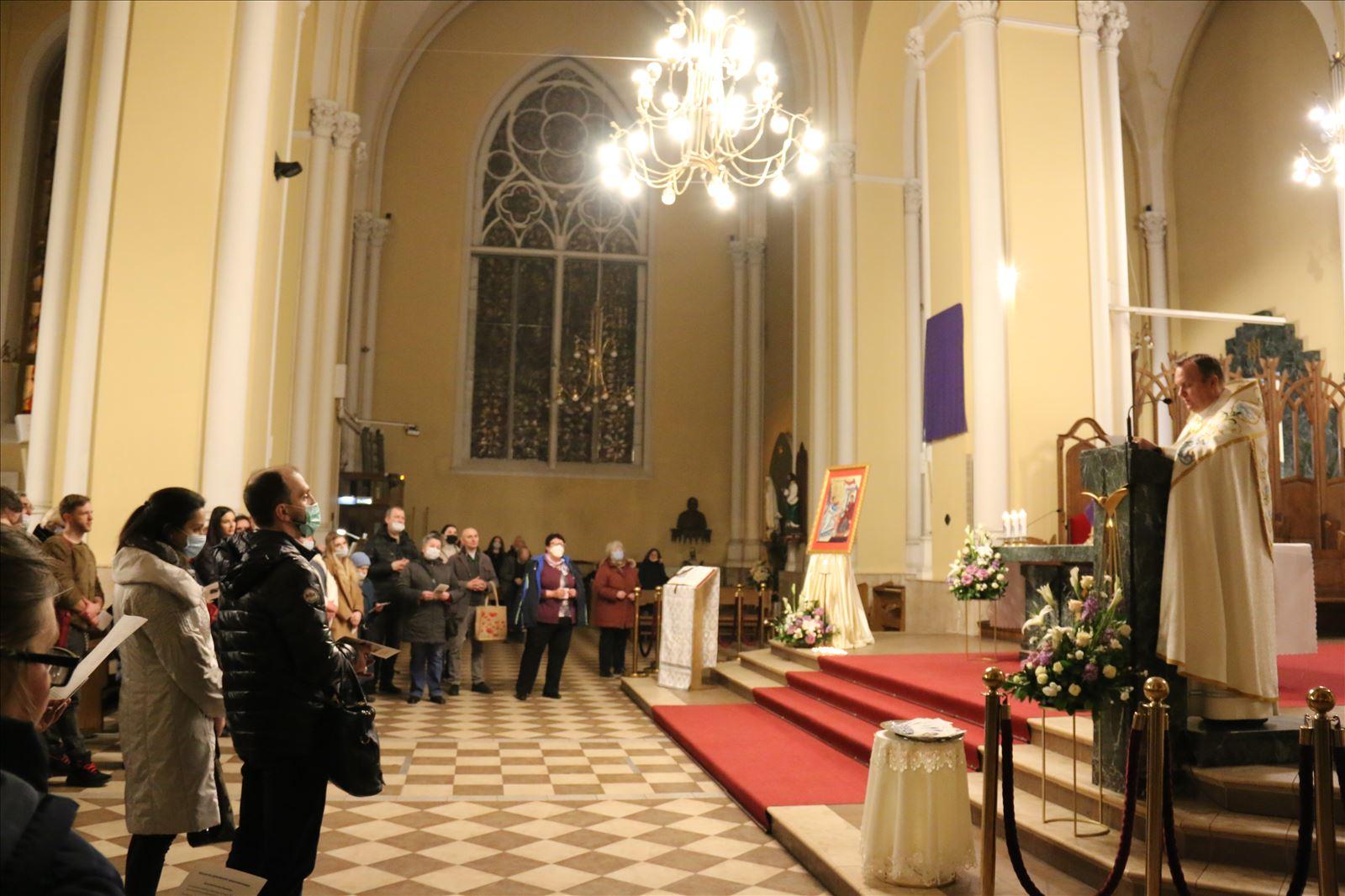 В торжество Благовещения в Московском кафедральном соборе прозвучала молитва «духовного усыновления» (+фото)