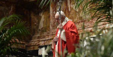 Проповедь Папы Франциска на Мессе Вербного воскресенья. 28 марта 2021 г., собор Святого Петра