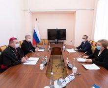 Епископ Николай Дубинин встретился с первым вице-губернатором Псковской области