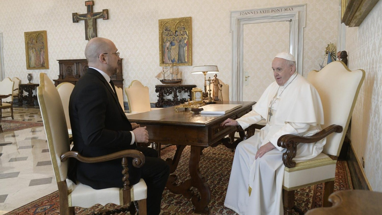 Папа встретился с премьер-министром Украины