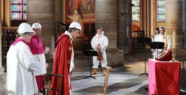 В Великий четверг в Нотр-Даме состоится обряд омовения ног