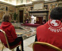 «Служение бедным приближает Царство Божье». Папа — волонтерам FIDESCO