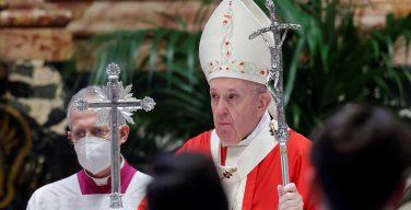 Папа на Святой Мессе Вербного воскресенья: «Бог с нами в каждой ране»