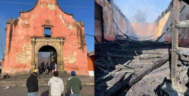 Пожар уничтожил мексиканскую «Сикстинскую капеллу»