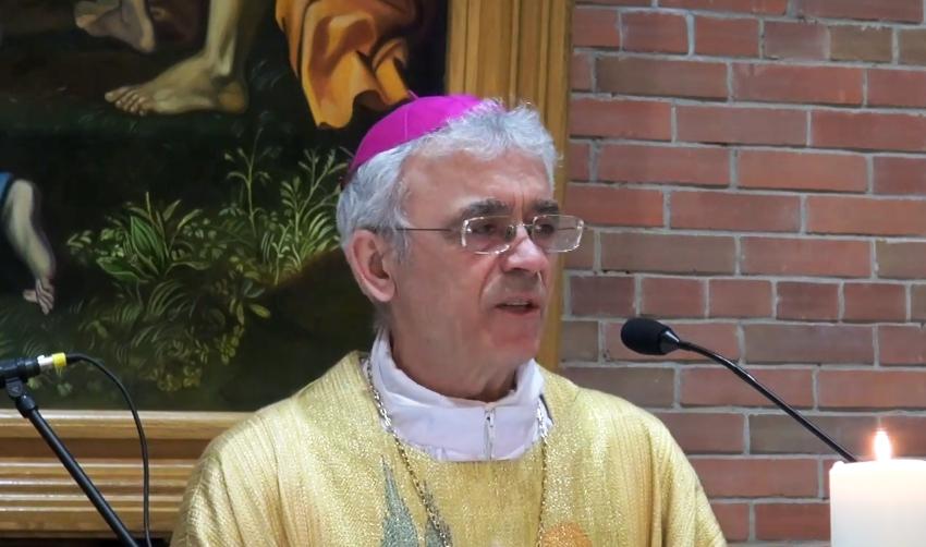 Проповедь Владыки Иосифа Верта на воскресной Мессе 18 апреля 2021 года (ВИДЕО)