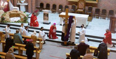 Второй акт мистерии нашего Спасения: Воспоминание Страстей Господних в Кафедральном соборе Новосибирска