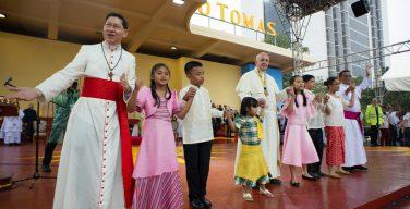 Папа поздравил филиппинцев с 500-летием евангелизации