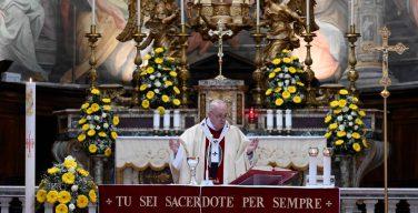 О Папской литургии в воскресенье Милосердия Божия (анонс)