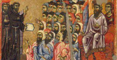 Выставка «Франциск и султан» состоялась в рамках I Межрелигиозного молодежного форума в Соборной мечети Москвы
