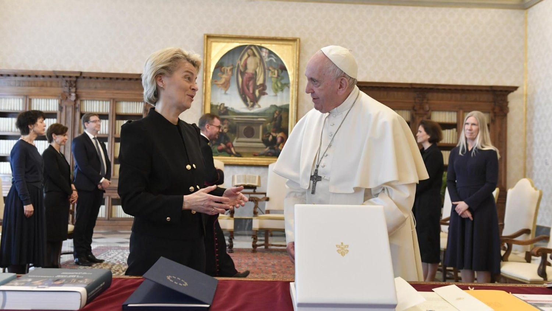 Папа Франциск встретился с председателем Еврокомиссии